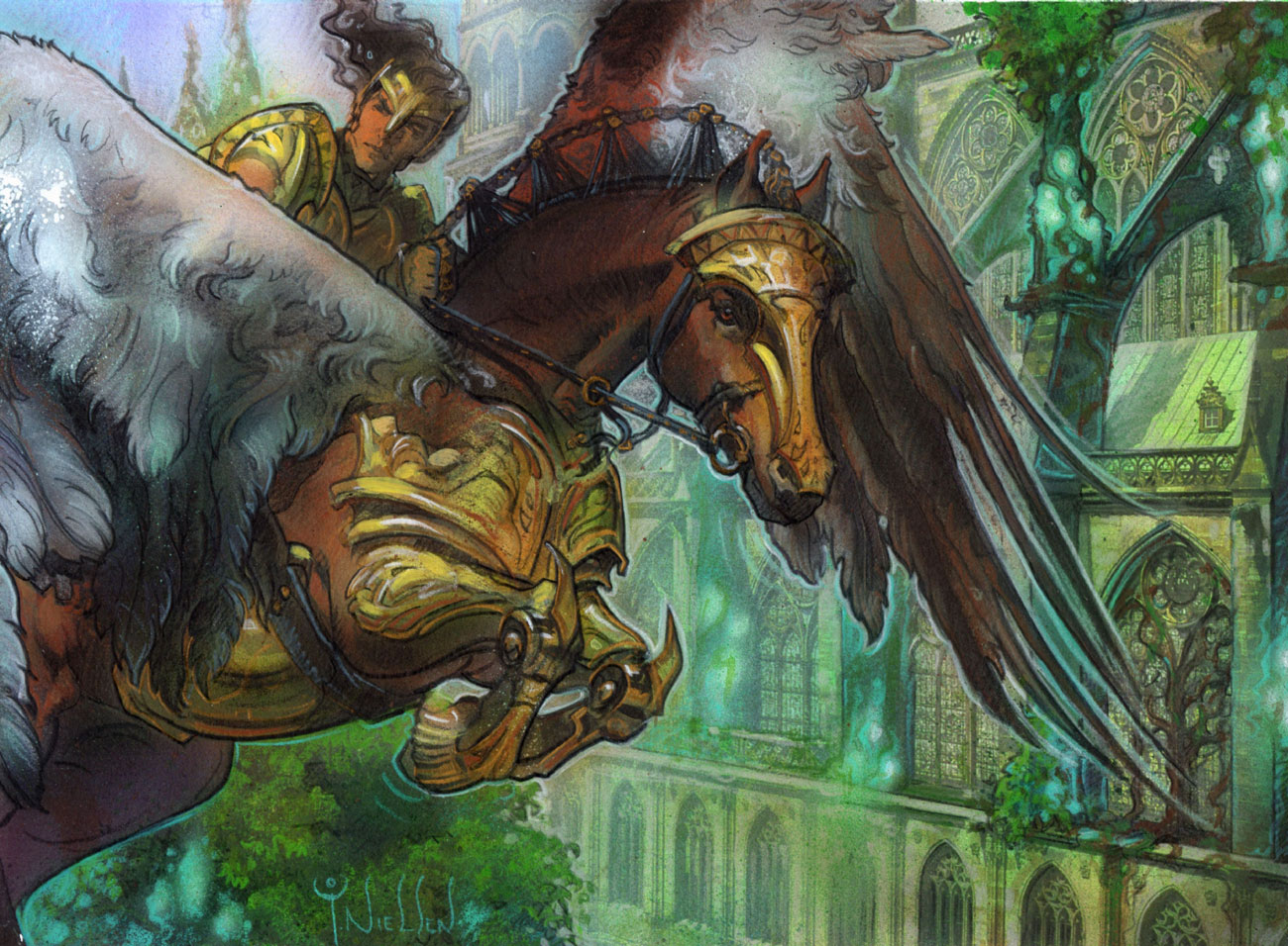 (c) Wizards of the Coast - Illus. Terese Nielsen
